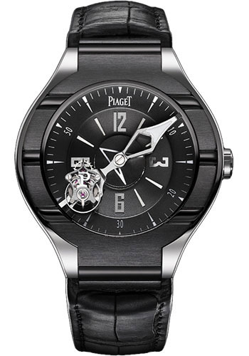 Piaget Watches - Polo Tourbillon - 45 mm - Style No: G0A35123