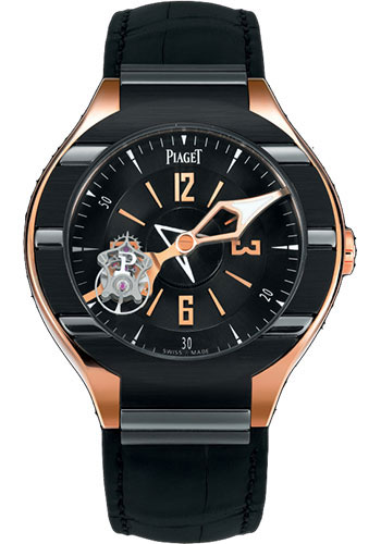 Piaget Watches - Polo Tourbillon - 45 mm - Style No: G0A35124