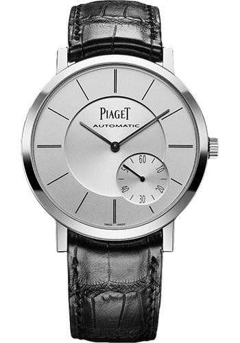 Piaget Watches - Altiplano Ultra-Thin - Automatic - 43 mm - White Gold - Style No: G0A35130