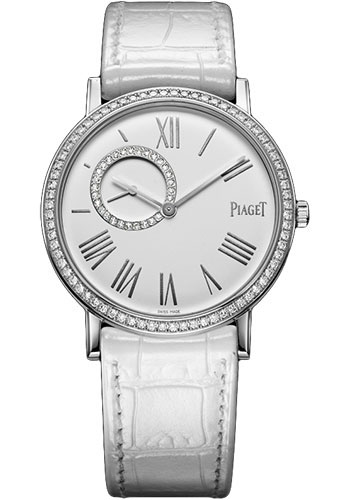 Piaget Watches - Altiplano Ultra-Thin - Mechanical - 34 mm - White Gold - Style No: G0A36106