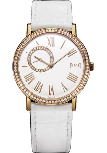 Piaget Watches - Altiplano Ultra-Thin - Mechanical - 34 mm - Rose Gold - Style No: G0A36107