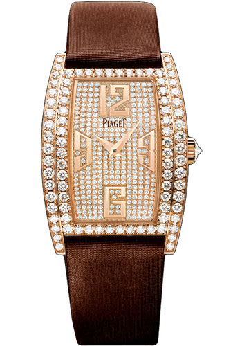 Piaget Watches - Limelight Tonneau-Shaped - Rose Gold - 27 x 38 mm - Style No: G0A36192
