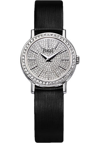 Piaget Watches - Altiplano 24 mm - White Gold - Style No: G0A37033