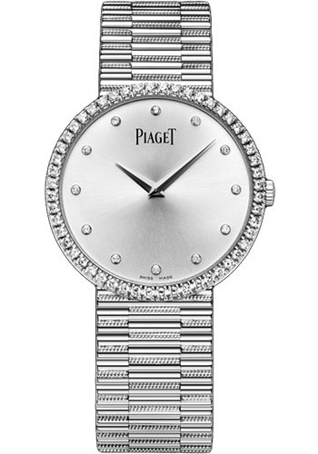 Piaget Watches - Traditional 34 mm - White Gold - Style No: G0A37045