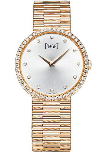 Piaget Watches - Traditional 34 mm - Rose Gold - Style No: G0A37046