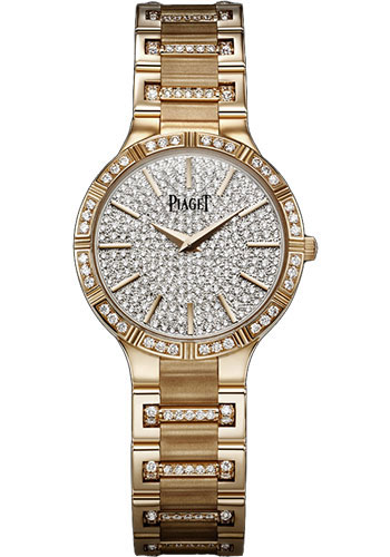 Piaget Watches - Dancer 28 mm - Rose Gold - Style No: G0A37053