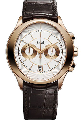 Piaget Watches - Black Tie Gouverneur - Chronograph - Style No: G0A37112