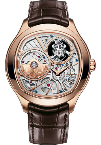 Piaget Watches - Black Tie Emperador Cushion-Shaped - Tourbillon - 46.5 mm - Style No: G0A38042