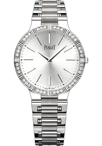 Piaget Watches - Dancer Ultra-Thin - 38 mm - White Gold - Style No: G0A38046