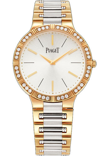 Piaget Watches - Dancer Ultra-Thin - 38 mm - Rose And White Gold - Style No: G0A38060