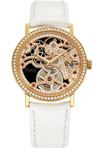 Piaget Watches - Altiplano Ultra-Thin - Skeleton - 34 mm - Style No: G0A38121