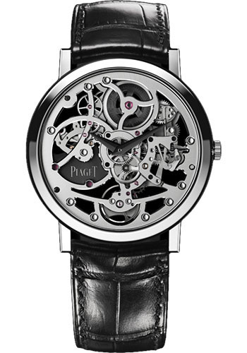 Piaget Watches - Altiplano Ultra-Thin - Skeleton - 38 mm - Style No: G0A37132