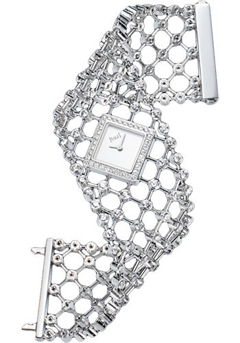 Piaget Watches - Limelight Precious Couture Cuff - White Gold - Style No: G0A38207