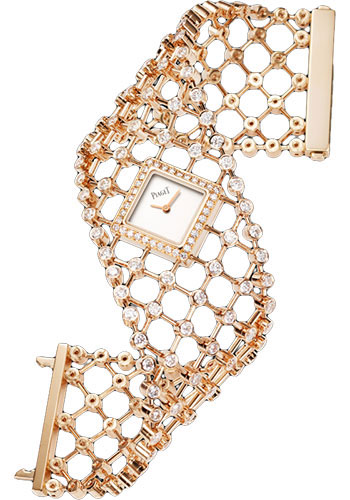 Piaget Watches - Limelight Precious Couture Cuff - Rose Gold - Style No: G0A38208