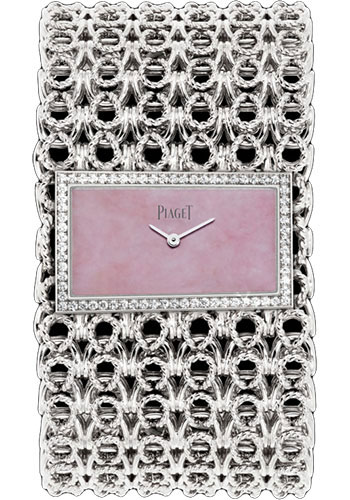 Piaget Watches - Limelight Precious Couture Cuff - White Gold - Style No: G0A38216