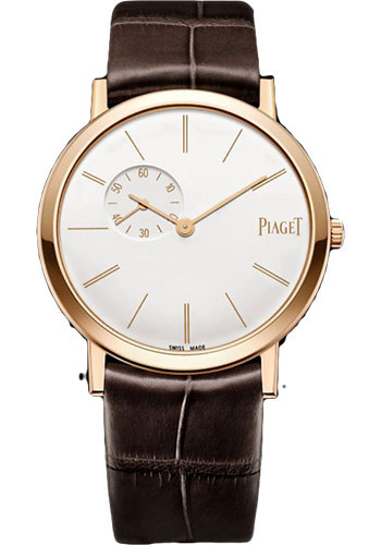 Piaget Watches - Altiplano Ultra-Thin - Mechanical - 34 mm - Rose Gold - Style No: G0A39105