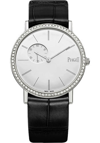 Piaget Watches - Altiplano Ultra-Thin - Mechanical - 34 mm - White Gold - Style No: G0A39106