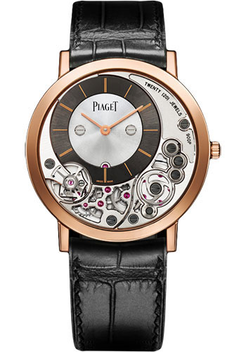 Piaget Watches - Altiplano Ultra-Thin - Mechanical - 38 mm - Rose Gold - Style No: G0A39110