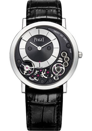 Piaget Watches - Altiplano Ultra-Thin - Mechanical - 38 mm - White Gold - Style No: G0A39111