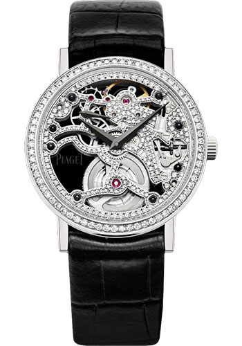 Piaget Watches - Altiplano Ultra-Thin - Skeleton - 34 mm - Style No: G0A39122