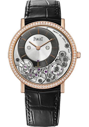 Piaget Watches - Altiplano Ultra-Thin - Mechanical - 38 mm - Rose Gold - Style No: G0A40013