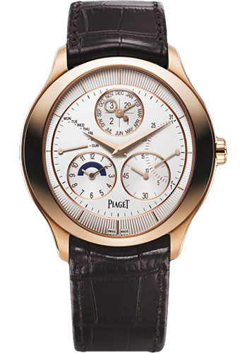 Piaget Watches - Black Tie Gouverneur - Perpetual Calendar - Style No: G0A40018