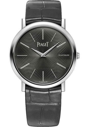 Piaget Watches - Altiplano Ultra-Thin - Mechanical - 38 mm - Platinum - Style No: G0A40020