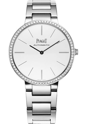 Piaget Watches - Altiplano Ultra-Thin - Automatic - 34 mm - White Gold - Style No: G0A40109