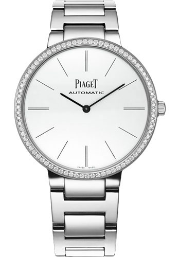 Piaget Watches - Altiplano Ultra-Thin - Automatic - 38 mm - White Gold - Style No: G0A40112