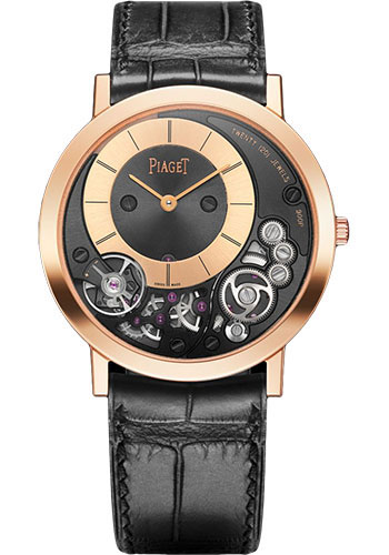 Piaget Watches - Altiplano Ultra-Thin - Mechanical - 38 mm - Rose Gold - Style No: G0A41011