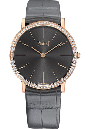 Piaget Watches - Altiplano Ultra-Thin - Mechanical - 34 mm - Rose Gold - Style No: G0A41105