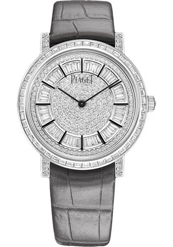 Piaget Watches - Altiplano Ultra-Thin - Mechanical - 36 mm - White Gold - Style No: G0A41127