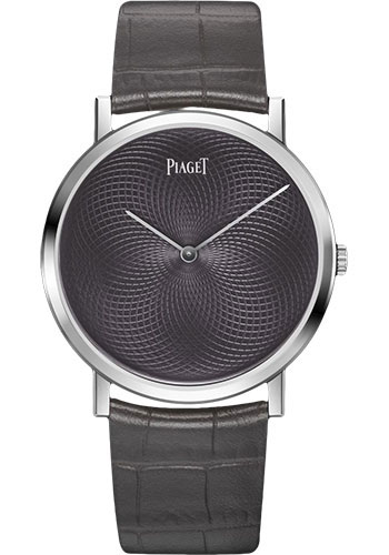 Piaget Watches - Altiplano Ultra-Thin - Mechanical - 38 mm - White Gold - Style No: G0A41206