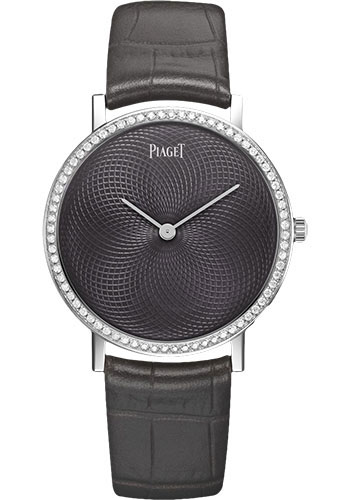 Piaget Watches - Altiplano Ultra-Thin - Mechanical - 34 mm - White Gold - Style No: G0A41207