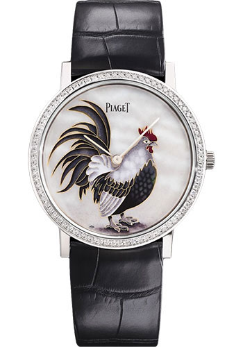 Piaget Watches - Altiplano Ultra-Thin - Mechanical - 38 mm - White Gold - Style No: G0A41540