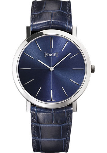 Piaget Watches - Altiplano Ultra-Thin - Mechanical - 38 mm - White Gold - Style No: G0A42107