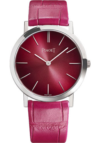Piaget Watches - Altiplano Ultra-Thin - Mechanical - 34 mm - White Gold - Style No: G0A42109