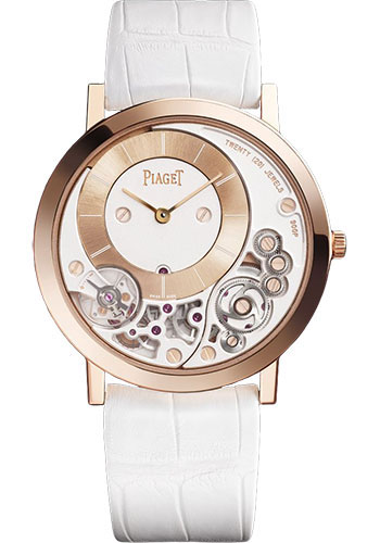 Piaget Watches - Altiplano Ultra-Thin - Mechanical - 38 mm - Rose Gold - Style No: G0A42110