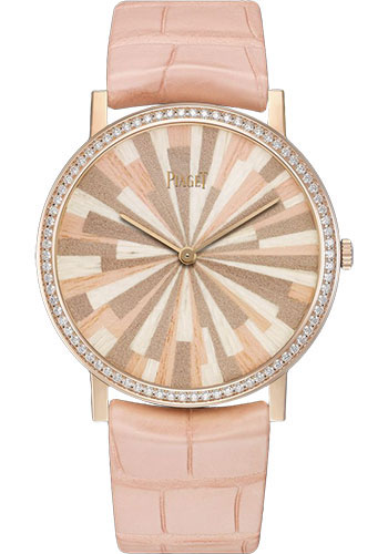 Piaget Watches - Altiplano Ultra-Thin - Mechanical - 38 mm - Rose Gold - Style No: G0A42143