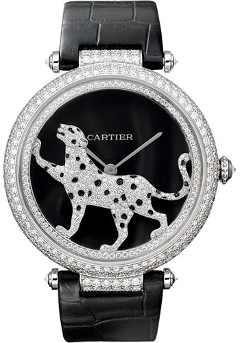 Cartier Watches - Feminine Complications Promenade D'une Panthere - Style No: HPI00490