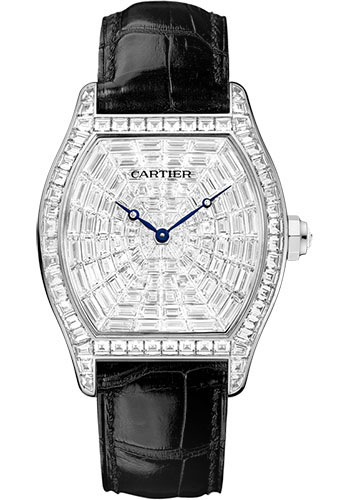 Cartier Watches - Tortue Extra Large - White Gold - Style No: HPI00502