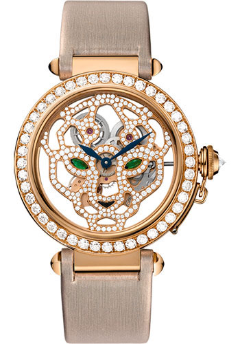 Cartier Watches - Feminine Complications Pasha skeleton - Style No: HPI00508