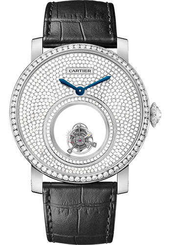 Cartier Watches - Rotonde de Cartier Mysterious Double Tourbillon - Style No: HPI00588