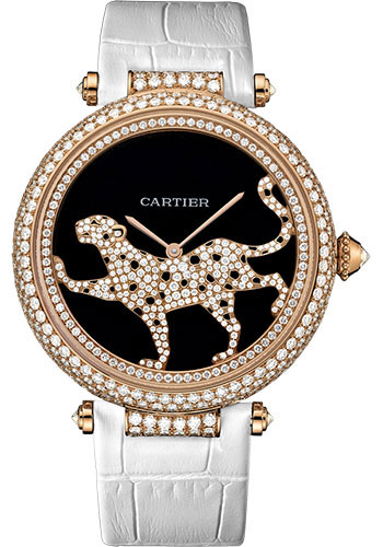 Cartier Watches - Feminine Complications Promenade D'une Panthere - Style No: HPI00684