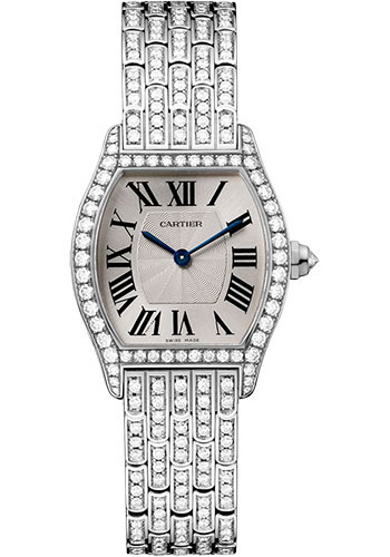 Cartier Watches - Tortue Small - White Gold - Style No: HPI00778