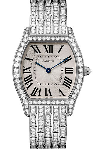 Cartier Watches - Tortue Medium - White Gold - Style No: HPI00779