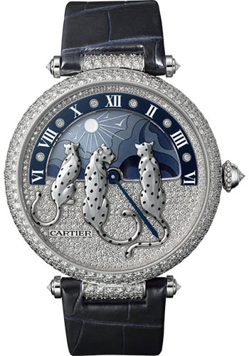 Cartier Watches - Panthere de Cartier Jewelry - Reves de Pantheres - Style No: HPI00930