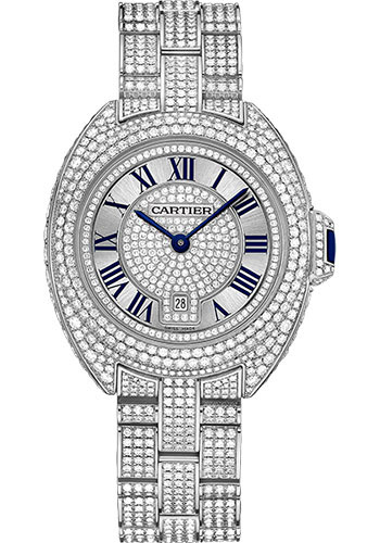 Cartier Watches - Cle de Cartier 31mm - White Gold - Style No: HPI00980