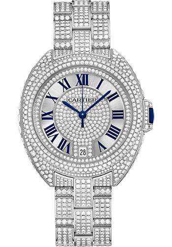 Cartier Watches - Cle de Cartier 35mm - White Gold - Style No: HPI00981