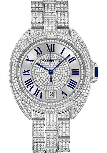 Cartier Watches - Cle de Cartier 40mm - White Gold - Style No: HPI00982